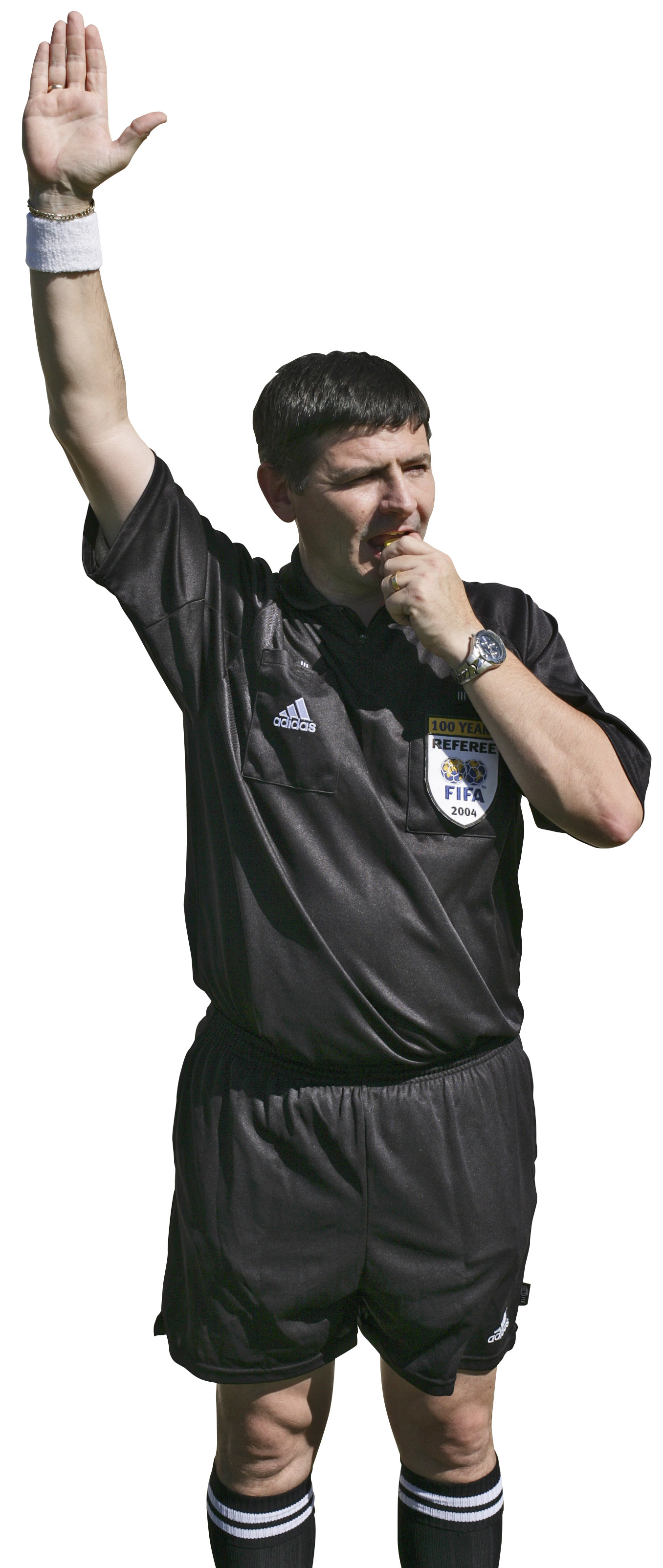 Soccer Referee From