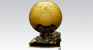Fifa Ballon d'Or award for best player.