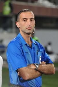 Ali Sabbagh - referee from Lebanon - Now sentenced for matchfixing.