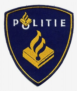 Dutch police badge.