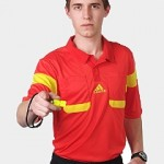 Adidas Champions League referee kits Red