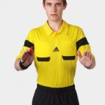 Adidas Champions League referee kits Black Yellow