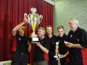 Utrecht referees win the utch Laws of the Game Champions 2013