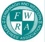Logo of Fermanagh & Western Referee Association.