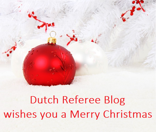 Merry Christmas In Dutch.Merry Christmas For All Referees From Dutch Referee Blog