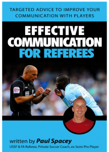 Cover ebook Effective Communication for referees.