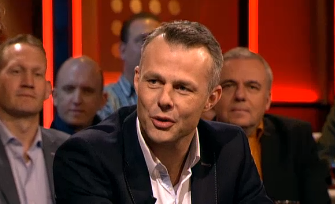 Bjorn Kuipers is very popular. The day he heared about his appointment for the World Cup he was in Dutch most popular tv show DWDD.