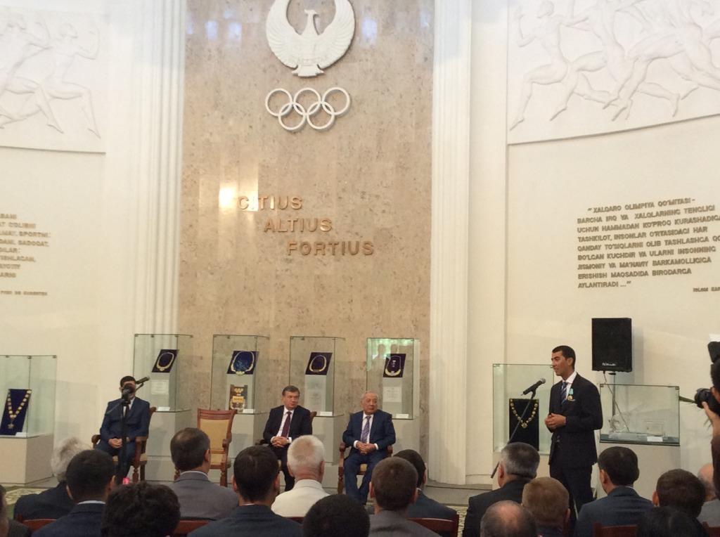 Ravshan Irmatov's speech.