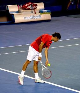 Roger Federer characteristics.