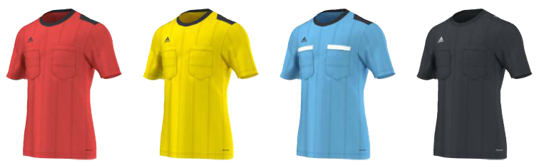 Adidas referee kits 2015 Champions League