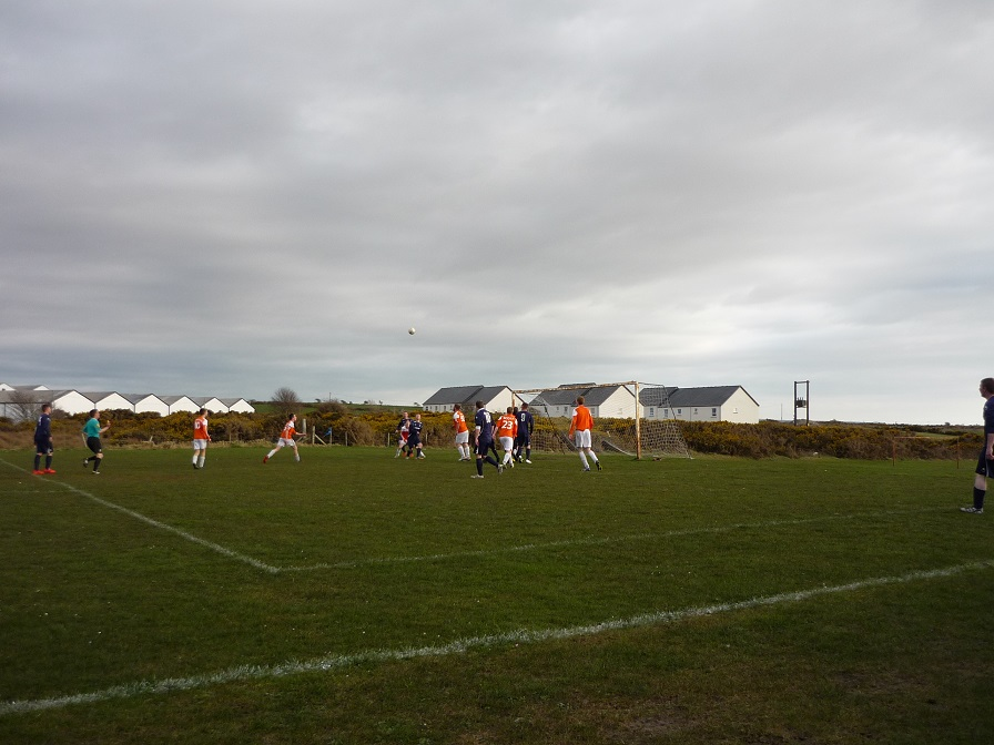Football game on Islay.