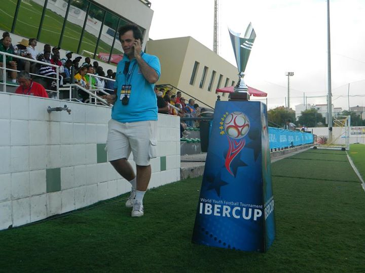 Daniel Curcio, referee director of the Ibercup