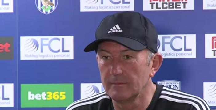 Tony Pulis press conference with positive comment on referee performance