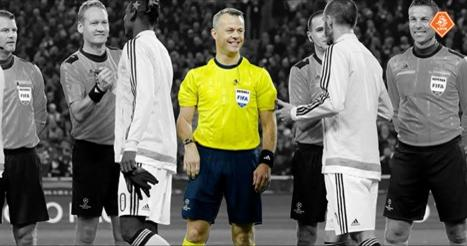Bjorn Kuipers, one of the referees for Euro 2016