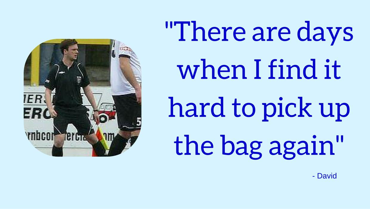Quote on refereeing and depression