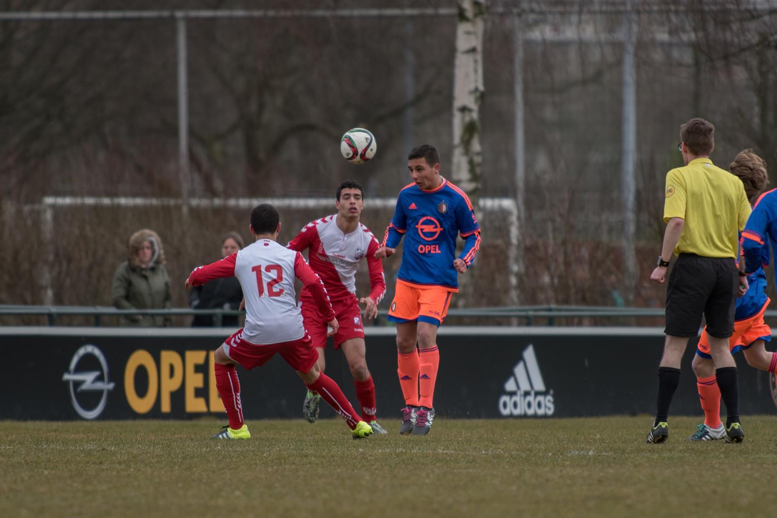 Feyenoord vs Utrecht u16 by Hans Warnaar