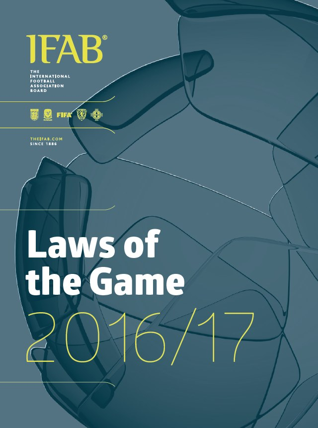 Fifa Laws of the Game 2016-2017