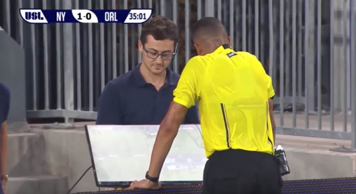 Video review in United Soccer League