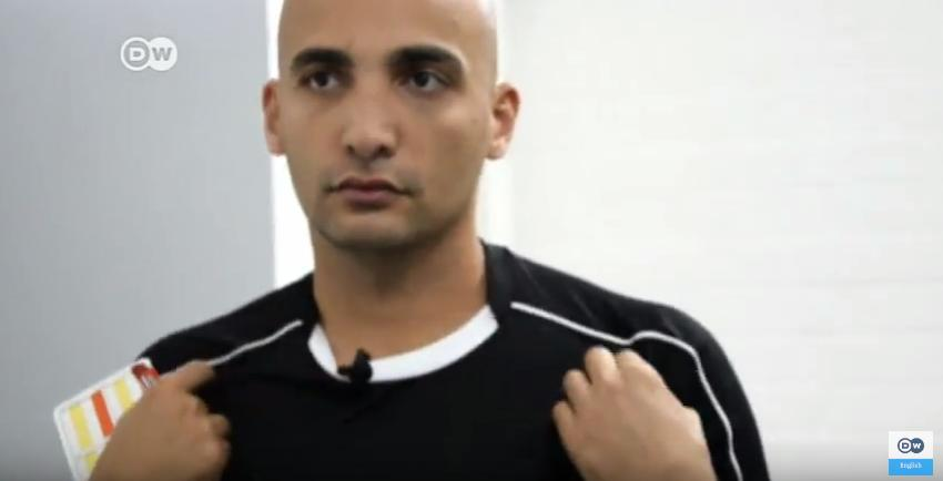 Ammar Sahar: from refugee to referee.