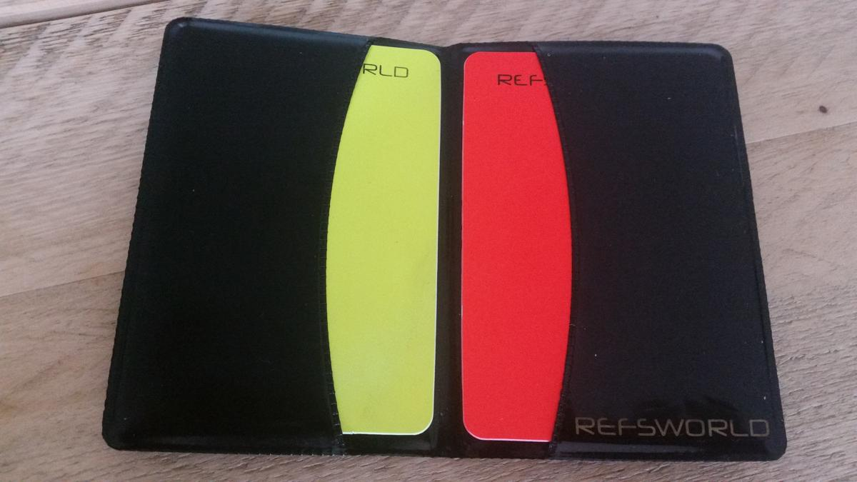 A referee wallet.