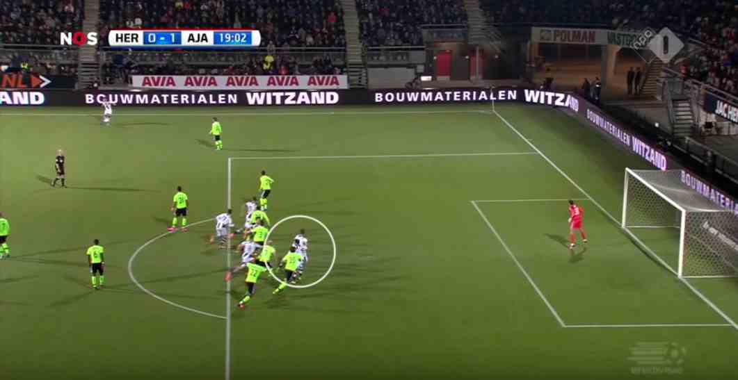 Interfering with play: offside position or not?