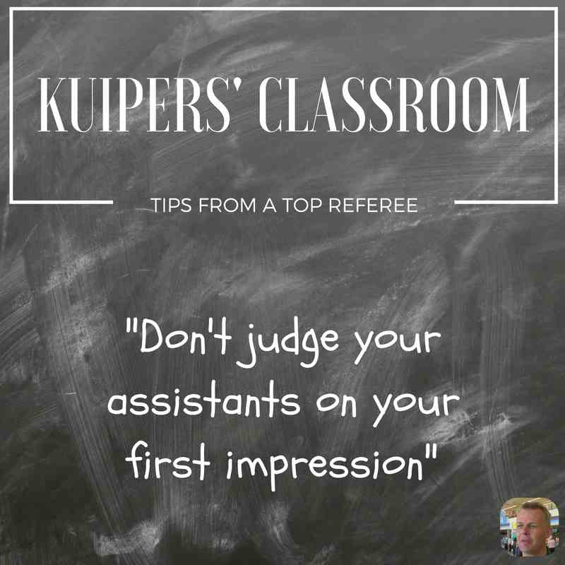 Kuipers' Classroom: don't judge your AR's on first impression