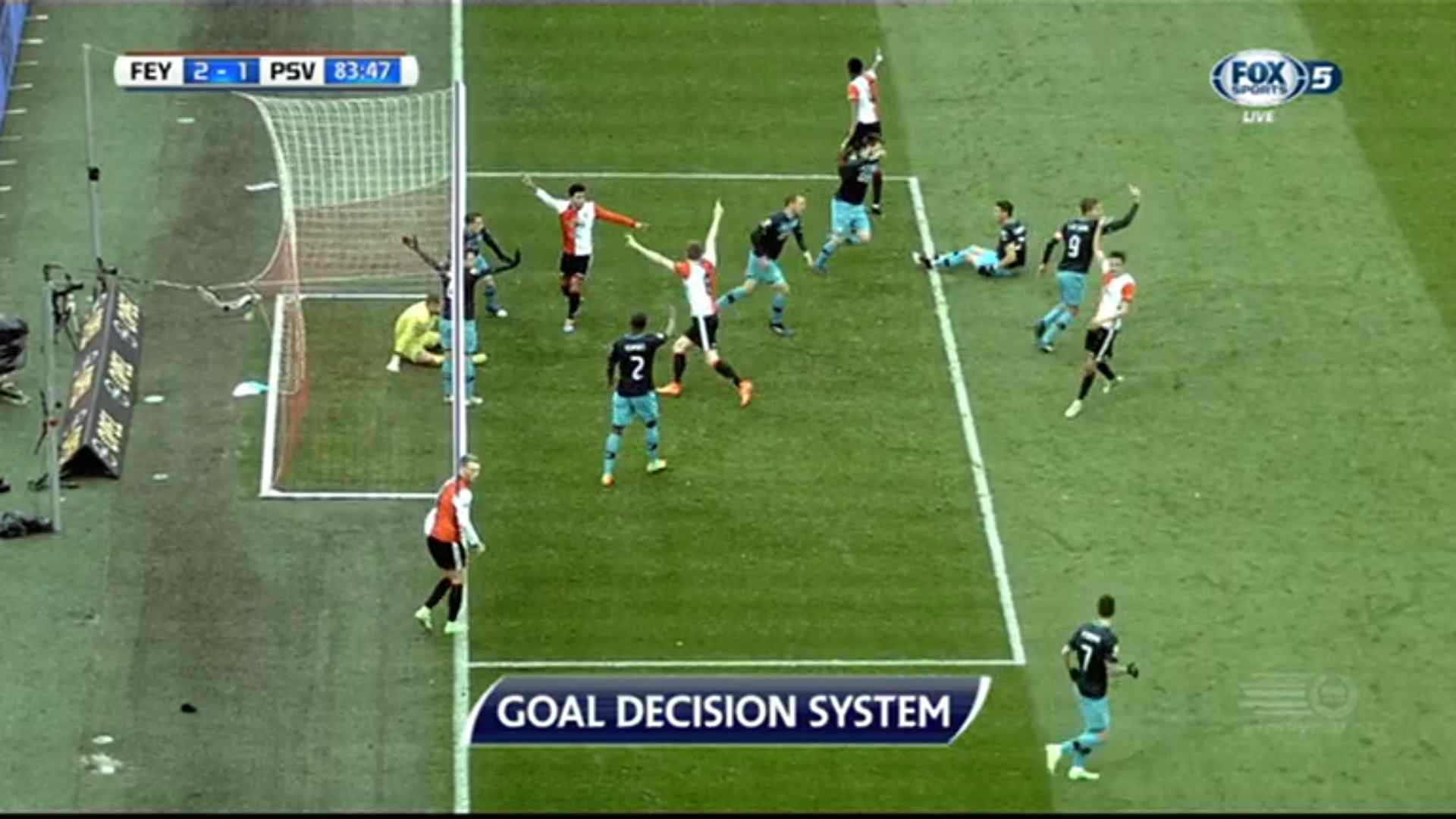 Goal-line technology doubt: did it pass the goal-line?