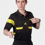Adidas Champions League referee kits Black