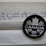 Referee badge from Canada