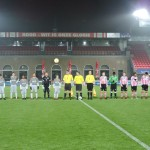 Dutch u15 National Team against Sparta Rotterdam as assistant referee