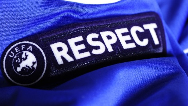 Abuse towards referees needs to stop. Respect badge!