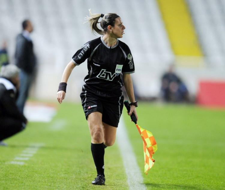 Refereeing in Cyprus: Angela Kyriakou