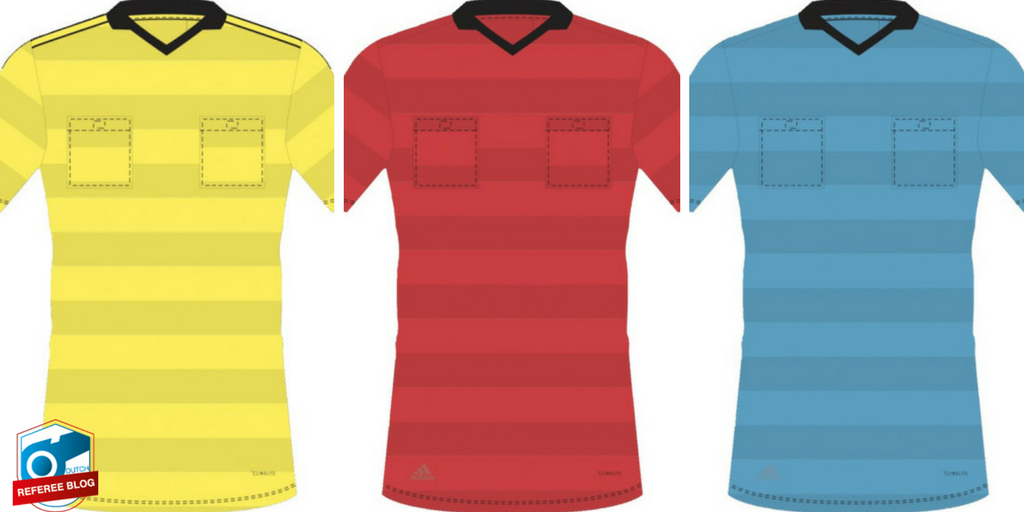 Referee kits 2018 World Cup