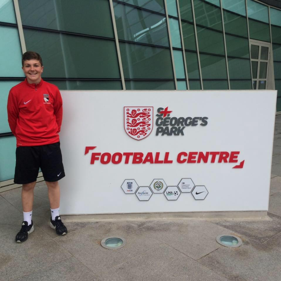 Harvey at national football centre