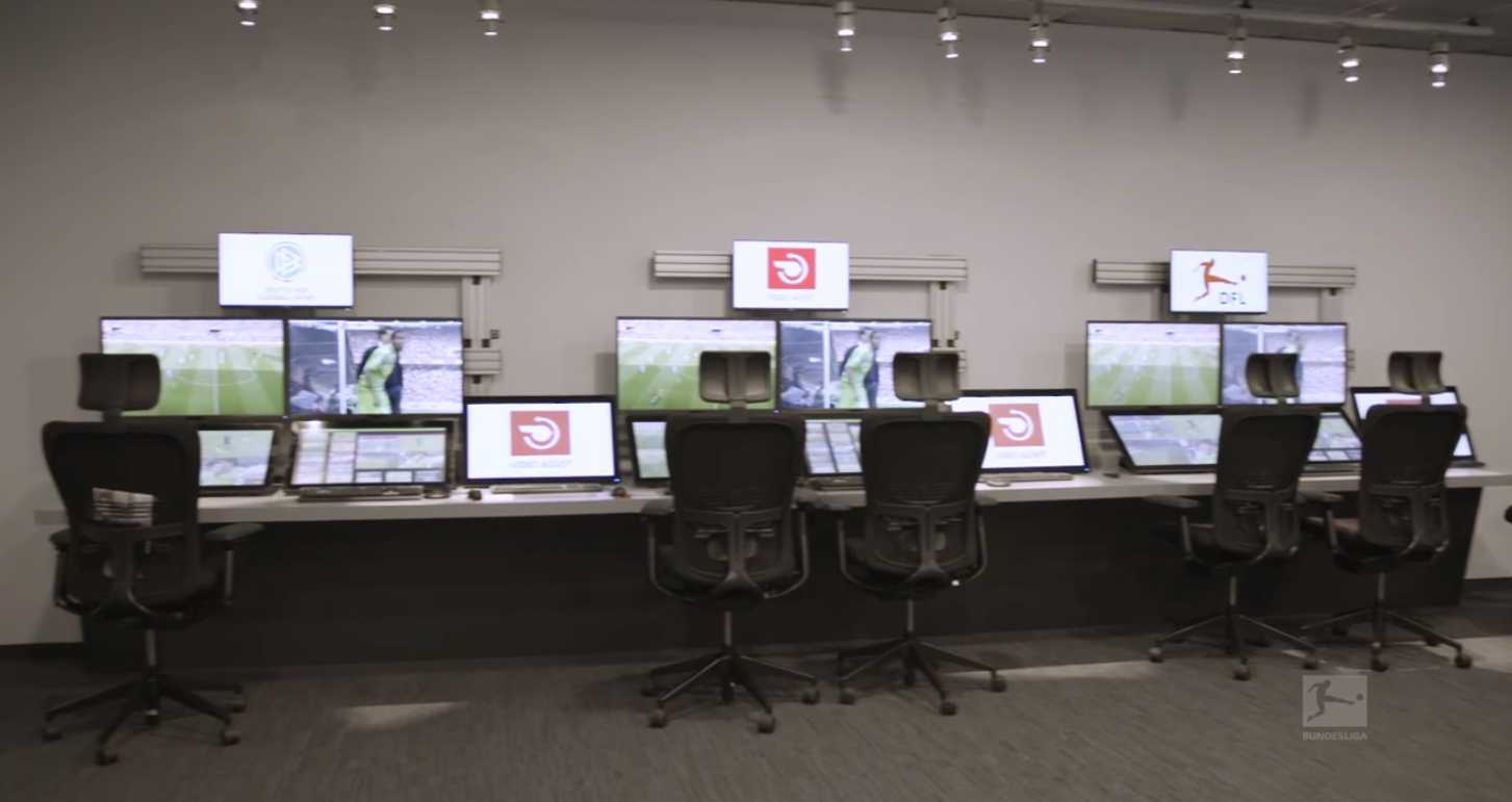 Video Assist Center for German referees.
