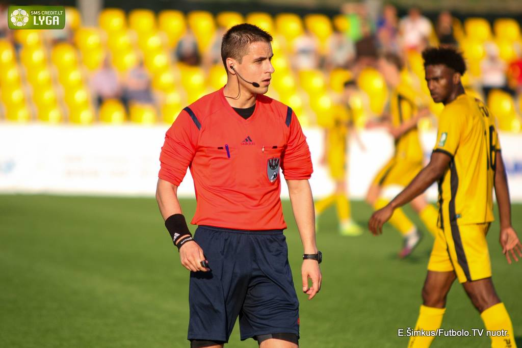 Referee Donatas Rumšas