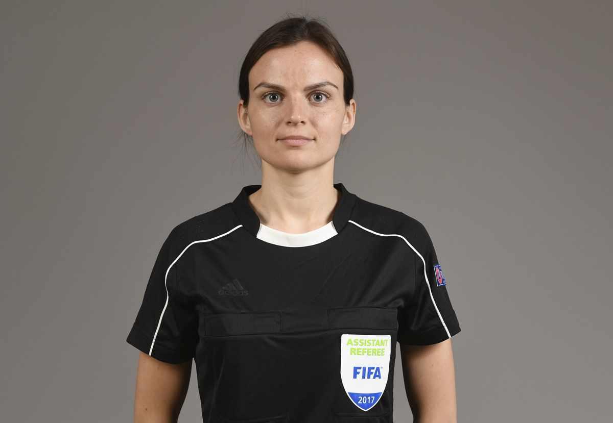 Assistant refereee Ieva Ramanauskine
