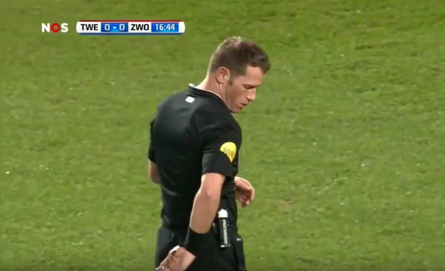 No deliberate handling according to Danny Makkelie