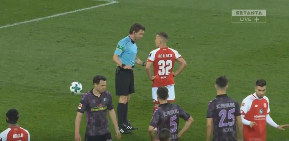 Change a decision as referee