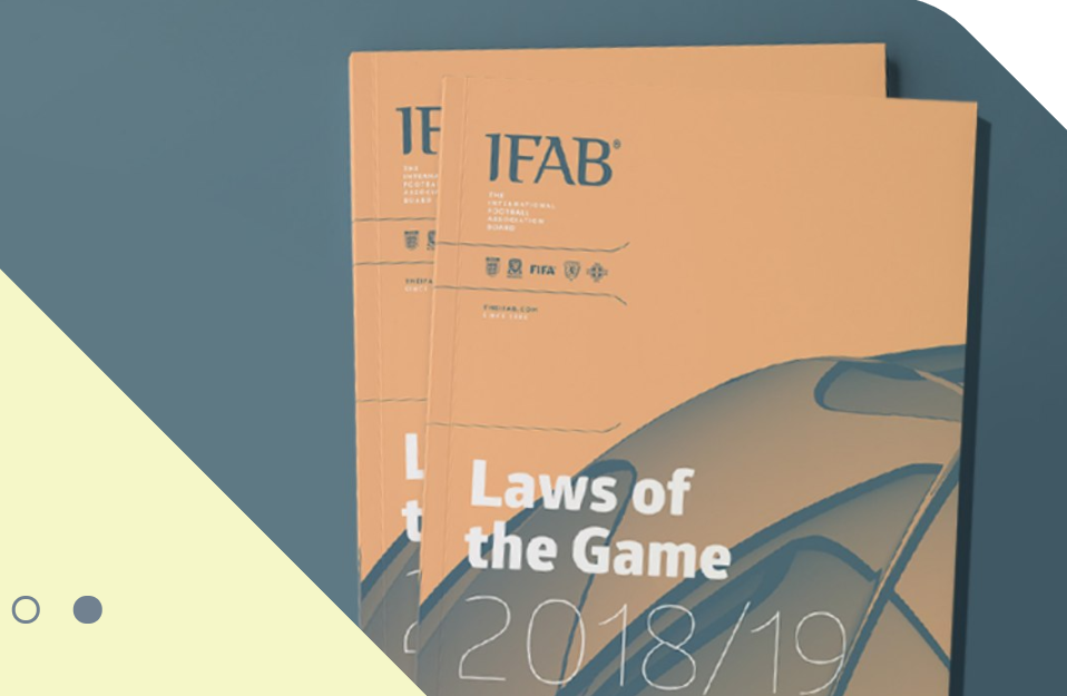 IFAB Laws of the Game changes 2018-2019