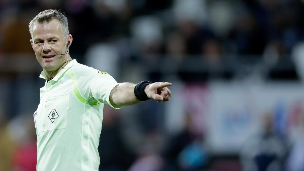 2018 Europa League final referee Björn Kuipers