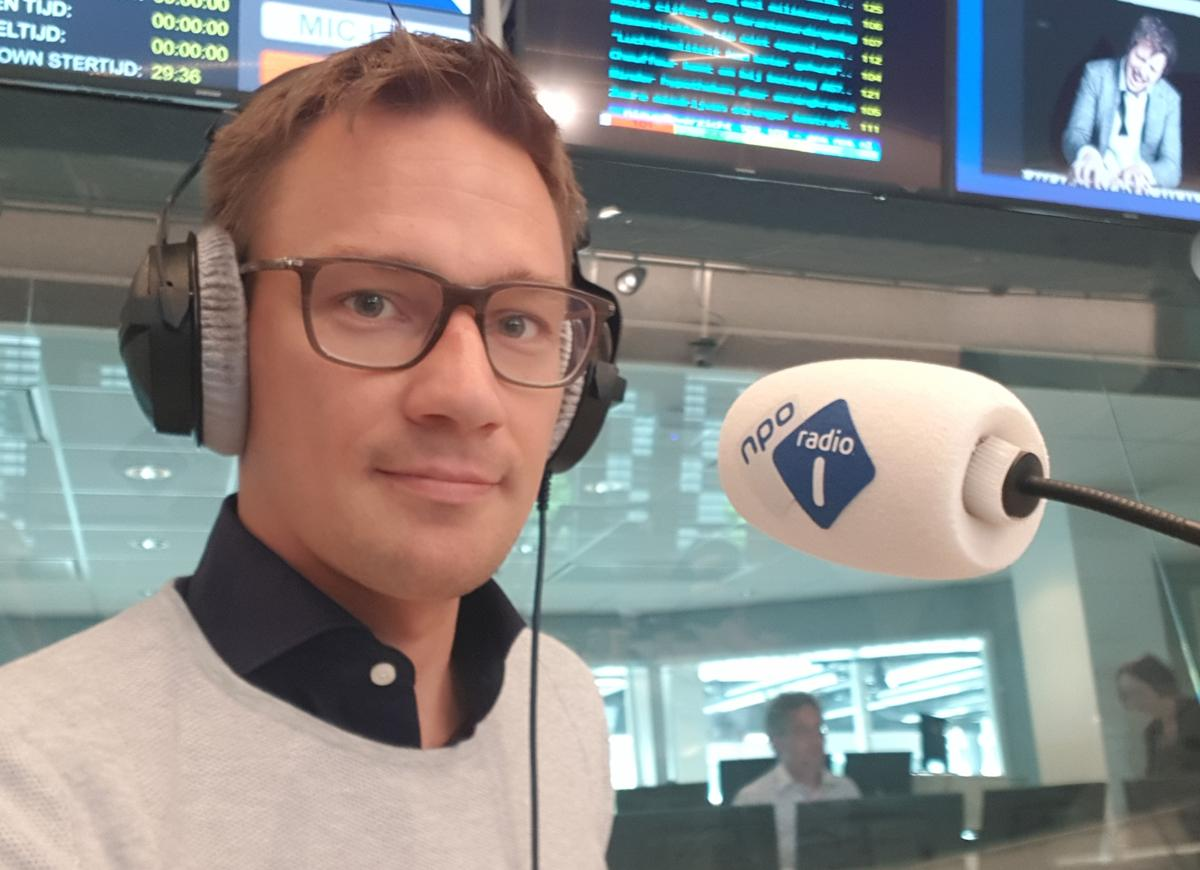 Jan on Dutch radio