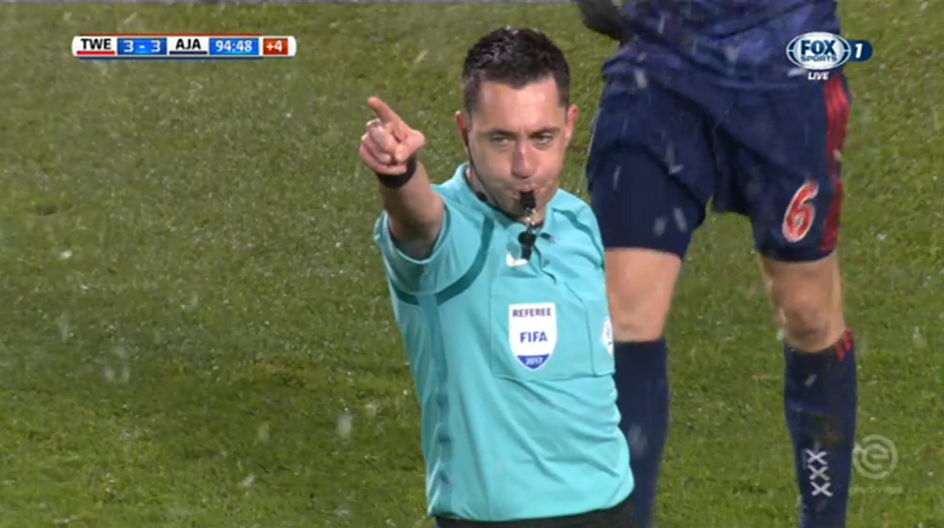 Referee Dennis Higler about refereeing a title clash