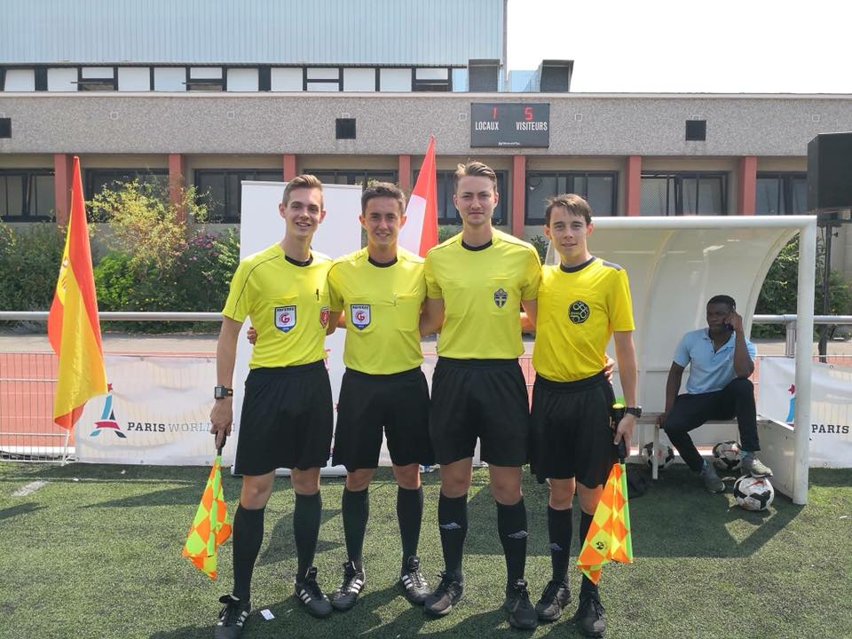 Paris World Games referees