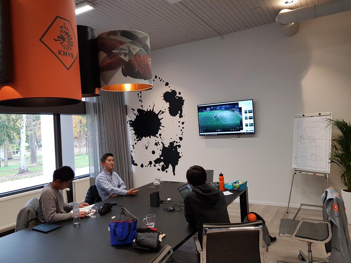 KNVB game session