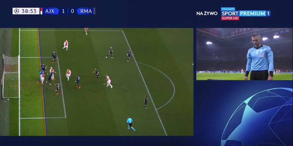 VAR disallows goal in Champions League