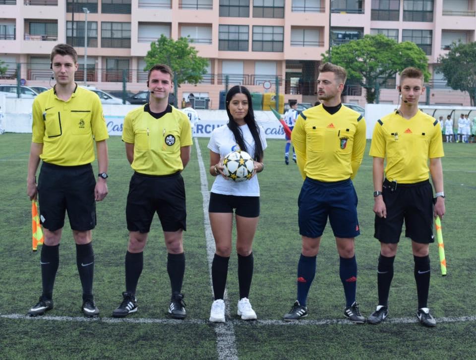 Ibercup 2019 u13 final referees
