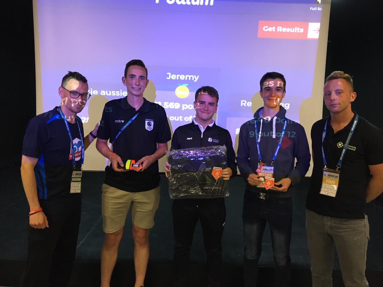 Quiz winners Ibercup 2019