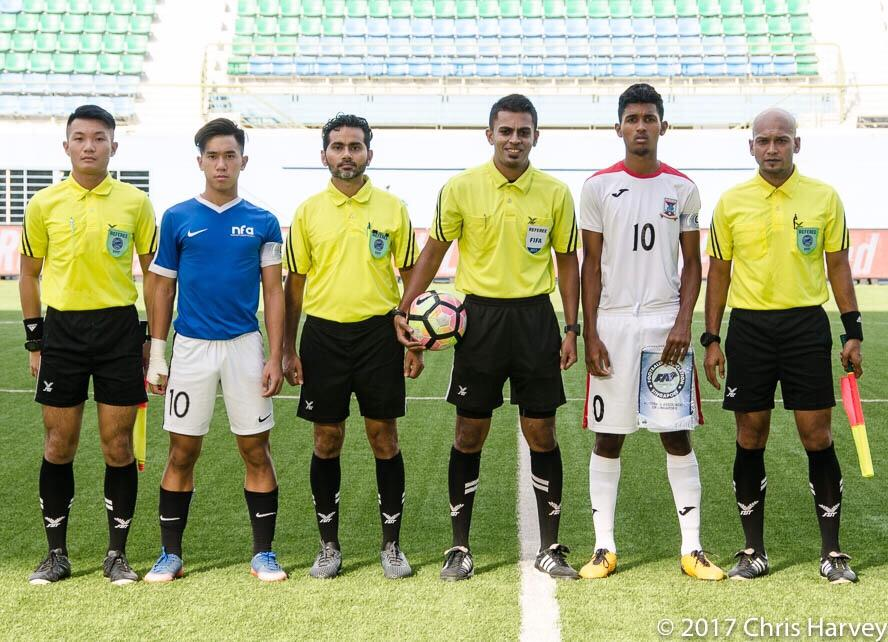Referees from Singapore