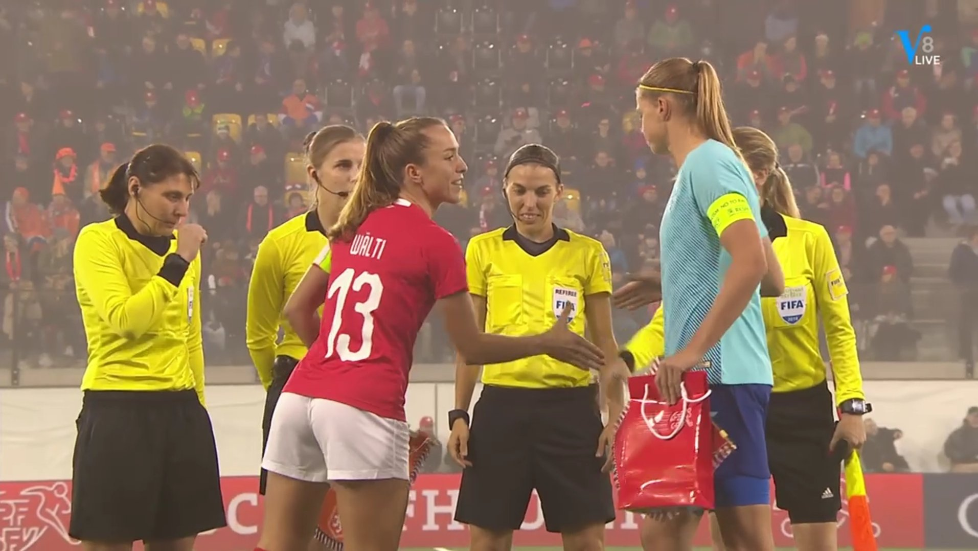 Stéphanie Frappart as referee